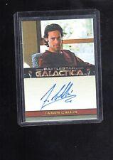Battlestar Galactica  James Callis  auto card