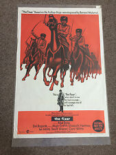The Fixer 1968 Original Movie Folded Poster 40 x 27 in. Rare