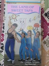 Land of Sweet Taps VHS NTSC Rosemary Boross Tap Dancing Dance Instruction NEW