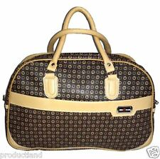 DURABLE TRAVELLING DUFFEL BAG SYNTHETIC LEATHER