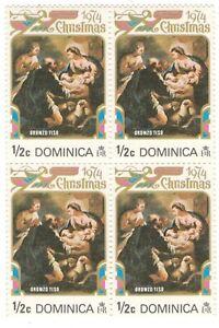 1974 Dominica Block - Christmas - Paintings