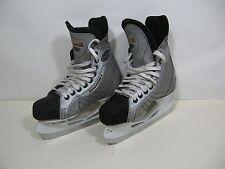 EASTON Magnum youth silver hockey skates size 5 $0SHIP