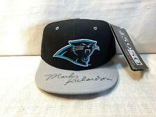 Mark Richardson Signed Autographed Carolina Panthers New Era 5950 Cap Hat JSA