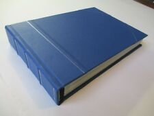 Leather Bound Photo Album Wedding & Special Occasions - Blue