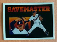 Bobby Thigpen 1991 Upper Deck #93 SAVEMASTER by Vernon Wells Printer Error