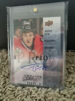 2016-17 Upper Deck MVP Pro Sign Andrew Shaw #PRO-AS Auto