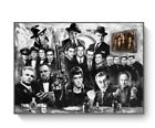 GANGSTERS GODFATHER GOODFELLAS SCARFACE POSTER, (Picture Sz 40*50cm - 50*70cm)