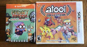 Limited Run Atooi Collection (Nintendo 3DS) New - Factory Sealed & Card Game