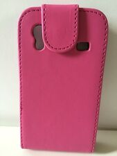 Leather Wallet Flip Case Cover For SAMSUNG GALAXY ACE S5830 & Screen Protector