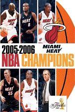 2005-2006 NBA CHAMPIONS MIAMI HEAT New Sealed DVD