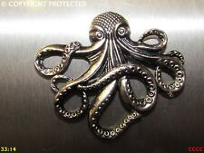 steampunk silver fridge magnet kraken octopus pirates of the caribbean