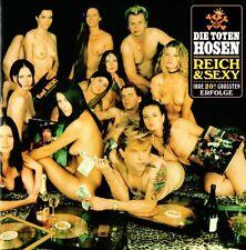 DIE TOTEN HOSEN - REICH & SEXY CD (BEST OF) IHRE 20 GRÖSSTEN ERFOLGE