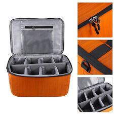 Partition Flexible Folding Padded Camera Lens Insert Bag Dividers Case DSLR LJ