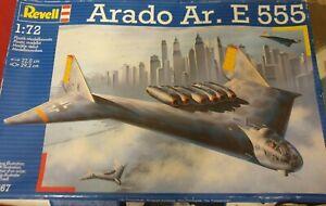 Revell Arado Ar. E 555 - 1:72 Rare Model Kit Unopened Plastics and Decals
