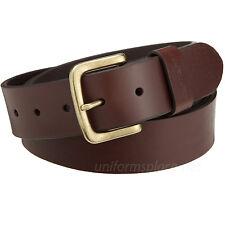 """Carhartt Leather Belt Mens 1-1/2"""" Journeymen Belts Removable Buckle Black Brown"""