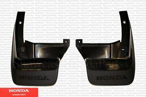Genuine Honda OEM Rear Splash/Mud Guard Kit Fits: 1990-1991 CRX EF 08P09-SH2-100