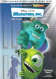 Monsters Inc.- Two Disc Collector's Edition (DVD)(2002)- Billy Crystal