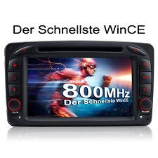 Autoradio DVD GPS Für Mercedes Benz C CLK Klasse W209 W639 W203 Vito Viano RDS