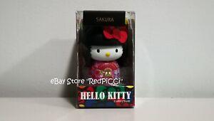 HELLO KITTY SANRIO Kokeshi Doll Japanese Wooden Doll KEYCHAIN - BLACK