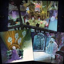 Haunted Mansion Disney Art Prints Set of 3 Concept Art Poster Hat Box 3115