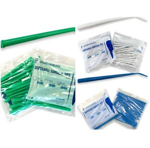 Surgical Aspirator Tips Dental Aspirating Suction Tips (Choose Size & Qty)