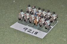 15mm CAVALLERIA FRANCESE NAPOLEONICO 12 cifre (9218) in metallo verniciato