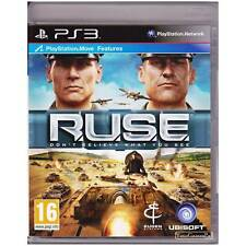 PLAYSTATION 3 RUSE PAL PS3 [ULN] R.U.S.E. YOUR GAMES PAL