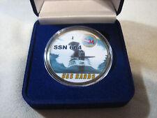 US NAVY SUBMARINE- USS HADDO / SSN-604 Challenge Coin w/ Presentation Box