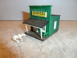 HO SCALE OLD WEST ASSAYERS OFFICE BUILDING