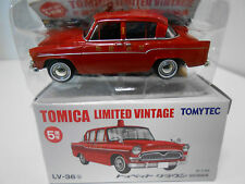 LV-036 B TOYOPET CROWN FIRE CHIEF BOMBEROS  TOMICA LTD. VINTAGE , 1/64