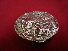 Albo Pillendose Silber 835 punziert - Reigen
