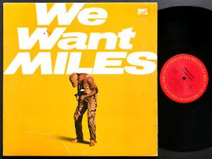 MILES DAVIS We Want Miles 2 x LP COLUMBIA C2 38005 US 1982 JAZZ Marcus Miller
