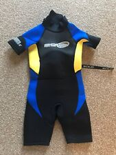 Childens Sola Fusion Core wetsuit. Used good condition XS half leg