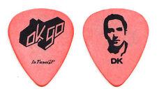 Ok Go Dan Konopka Signature Orange Tour Guitar Pick
