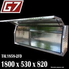 Aluminium Toolbox 1800x530x820mm Ute Tool Box checker plate truck FD1