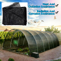 50% Sunblock Shade Cloth UV Resistant Fabric Greenhouse Plant Cover 6.5Ft X