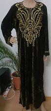 Bodenlange Damenkleider aus Samt für die Freizeit