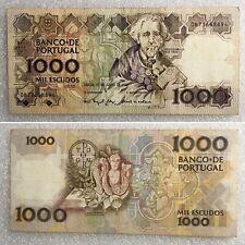 Portugal 1000 Escudos 1993 Pick P-181j(1) Rare Banknote TOP!