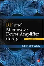 RF and Microwave Power Amplifier Design by Andrei Grebennikov (2015, Hardcover)