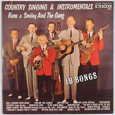 RENO & SMILEY & GANG: Country Singing KING Bluegrass ORIG DG Vinyl LP Super Rare