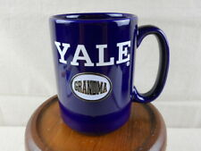 yale ivy league university navy blue mug soup bowl  collegiate licencsed B