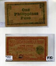 1945 PHILIPPINES 1 PESO  CURRENCY NOTE  AU CU 8676E