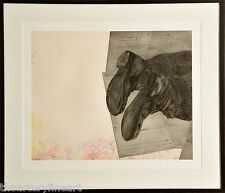 KIKI SMITH 'Home' 2006 SIGNED Aquatint Etching Print Ltd. Edition #16/20 Framed