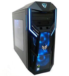 Acer Predator Orion Gaming PC, Intel i7-9700, 16GB RAM, 256GB + 1TB, GTX 1660Ti