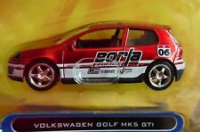 JADA VOLKSWAGEN VW GOLF MK5 GTI V DUBS CUSTOM STYLE COLLECTIBLE RACE CAR