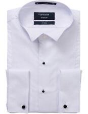 NEW Van Heusen Euro European Fit Dinner Shirt White