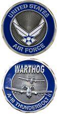USAF AIR FORCE WARTHOG A-10 THUNDERBOLT  CHALLENGE COIN