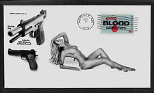1967 Smith & Wesson .38 & Sexy Woman ad Featured on Collector's Envelope *A097