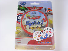 DISNEY PLANES Spot it! Alphabet Game Tin Can 55 Cards 2-8 Players Brand New RARE