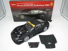 "Kyosho 08392A  Ferrari  575  GTC  Evolutione  "" 2005""  (mattschwarz)  1:18 OVP !"